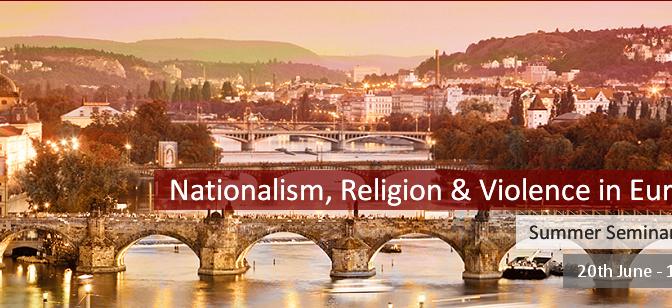 Ecole d'été – Nationalisme, religion, violence en Europe