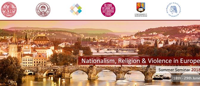 Letní univerzita: Nacionalismus, náboženství a násilí 2018